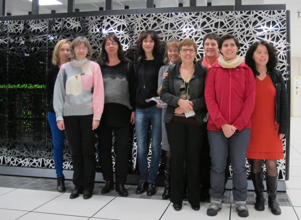 Members of the Women in HPC network