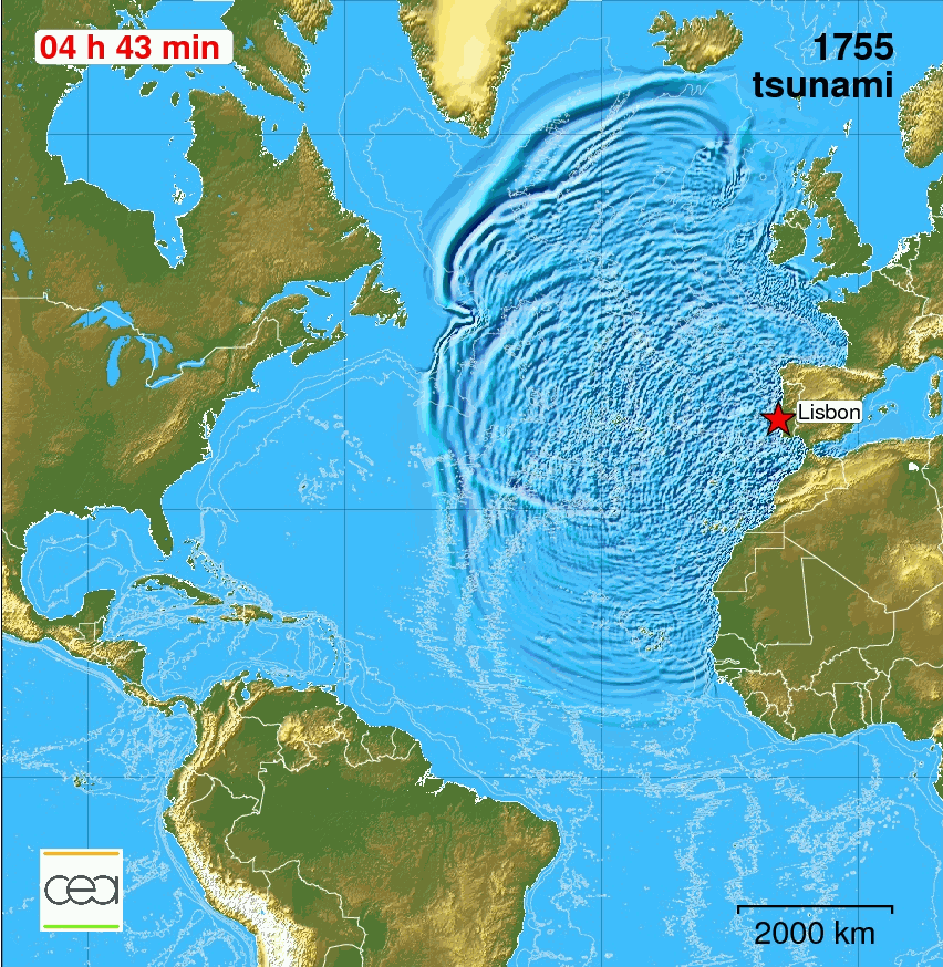 Computer simulation of tsunami
